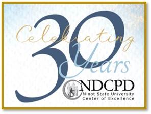 NDCPD 30th Anniversary Logo